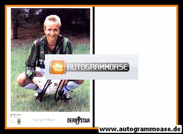 Autogramm Fussball   Borussia Mönchengladbach   1990   Norbert MEIER