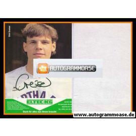 Autogramm Fussball | Hertha BSC Berlin | 1989 | Dirk GREISER