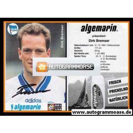 Autogramm Fussball | Hertha BSC Berlin | 1996 | Dirk BREMSER