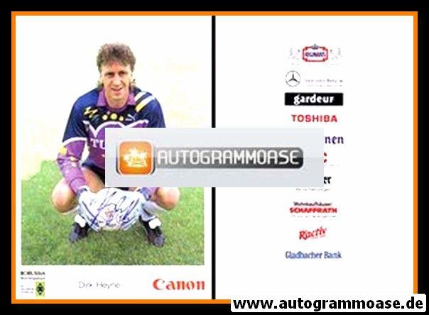 Autogramm Fussball   Borussia Mönchengladbach   1991   Dirk HEYNE