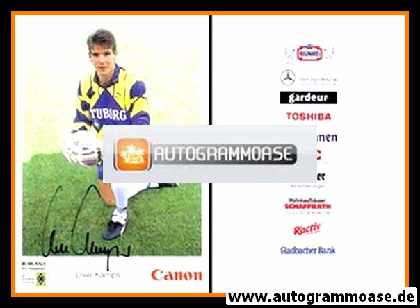 Autogramm Fussball   Borussia Mönchengladbach   1991   Uwe KAMPS