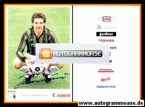 Autogramm Fussball | Borussia Mönchengladbach | 1991 | Thomas KASTENMAIER