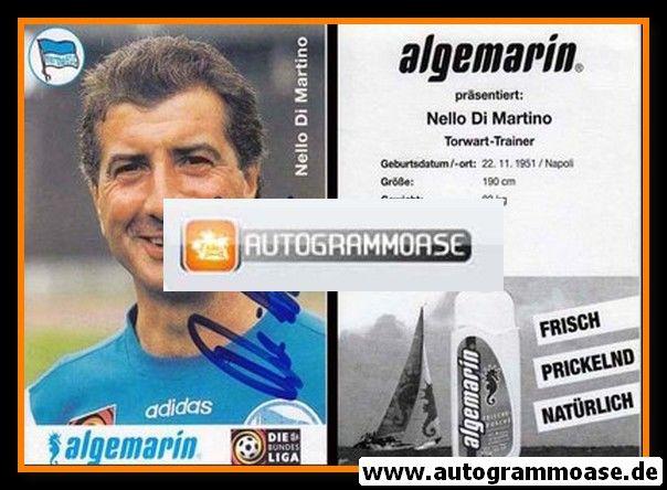 Autogramm Fussball   Hertha BSC Berlin   1996   Nello DI MARTINO