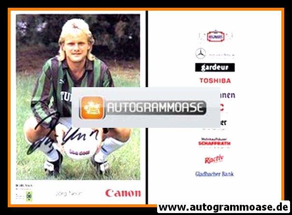 Autogramm Fussball   Borussia Mönchengladbach   1991   Jörg NEUN