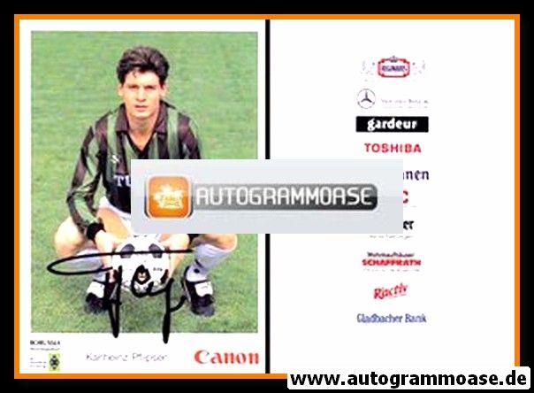Autogramm Fussball | Borussia Mönchengladbach | 1991 | Karl-Heinz PFLIPSEN