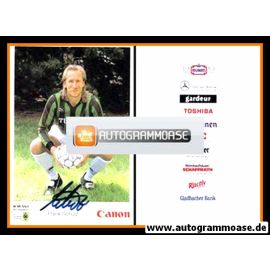 Autogramm Fussball | Borussia Mönchengladbach | 1991 | Frank SCHULZ