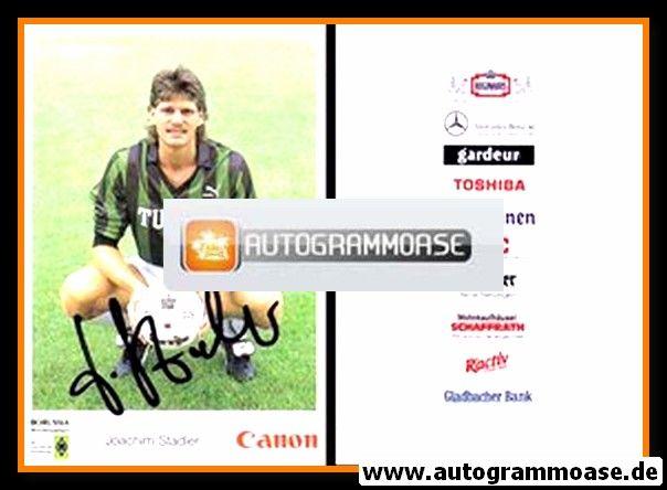 Autogramm Fussball   Borussia Mönchengladbach   1991   Joachim STADLER