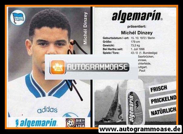 Autogramm Fussball   Hertha BSC Berlin   1996   Michel DINZEY