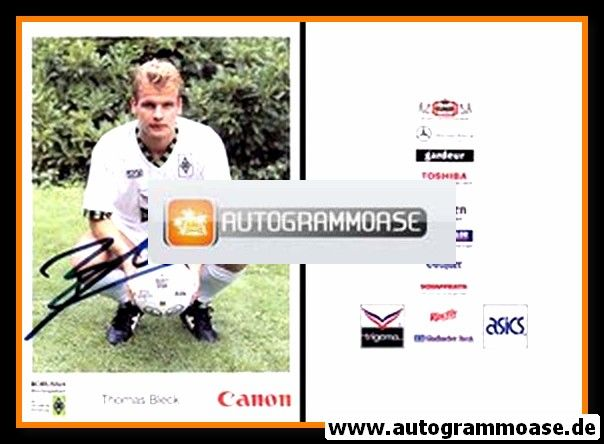 Autogramm Fussball | Borussia Mönchengladbach | 1992 Canon | Thomas BLECK