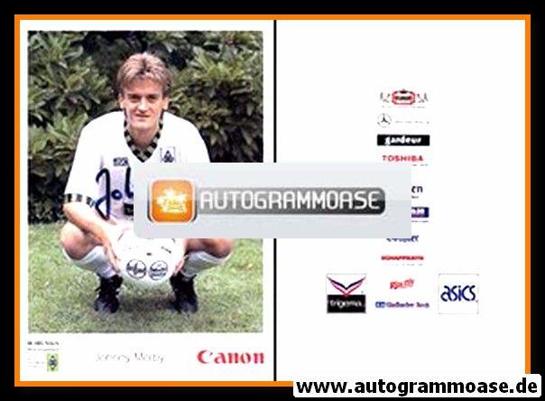 Autogramm Fussball | Borussia Mönchengladbach | 1992 Canon | Johnny MÖLBY