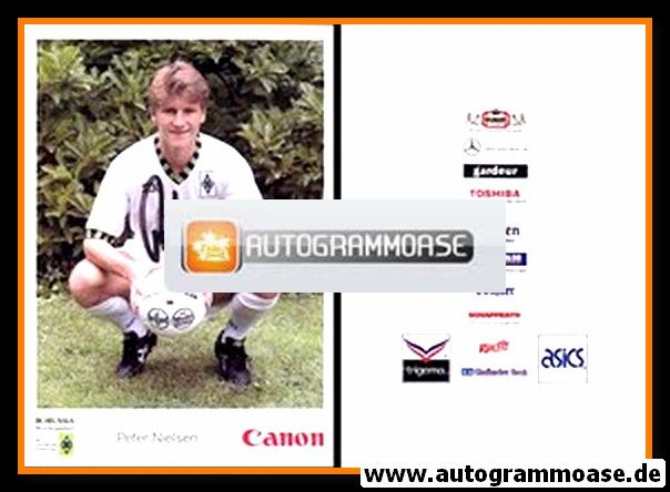Autogramm Fussball | Borussia Mönchengladbach | 1992 Canon | Peter NIELSEN