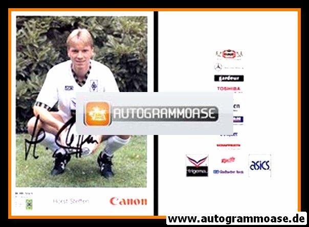 Autogramm Fussball | Borussia Mönchengladbach | 1992 Canon | Horst STEFFEN