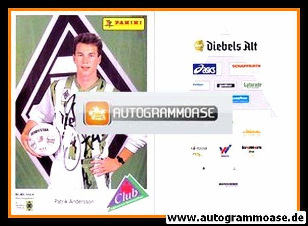Autogramm Fussball | Borussia Mönchengladbach | 1994 | Patrik ANDERSSON