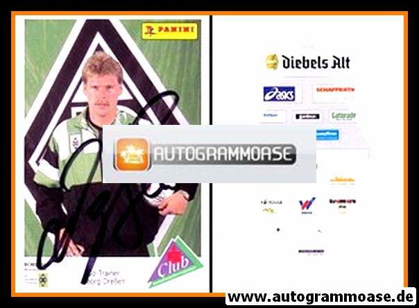 Autogramm Fussball | Borussia Mönchengladbach | 1994 | Hans-Georg DRESSEN