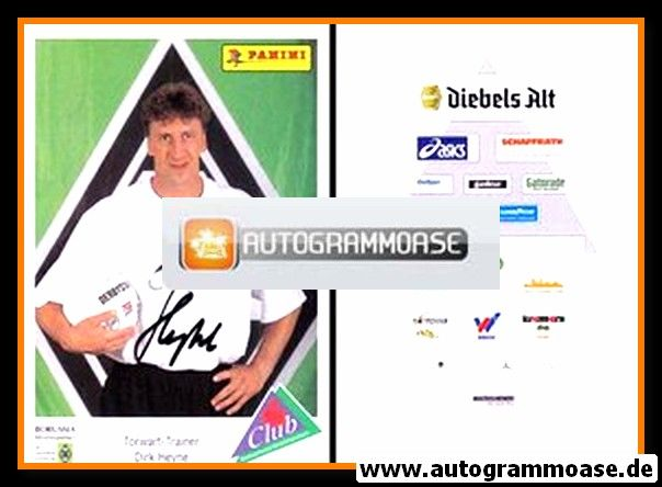 Autogramm Fussball   Borussia Mönchengladbach   1994   Dirk HEYNE