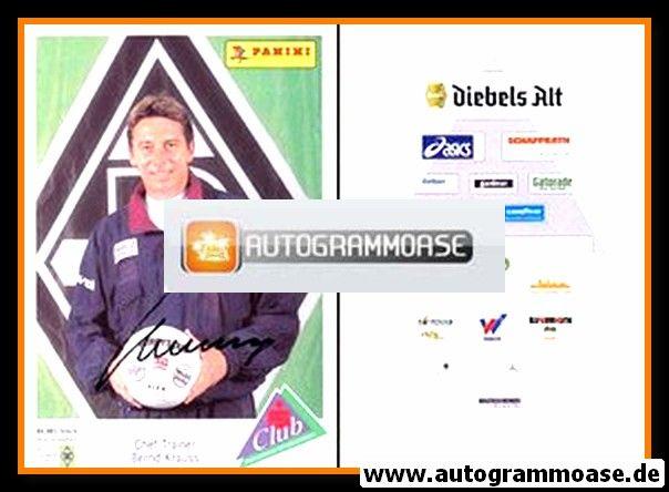 Autogramm Fussball | Borussia Mönchengladbach | 1994 | Bernd KRAUSS