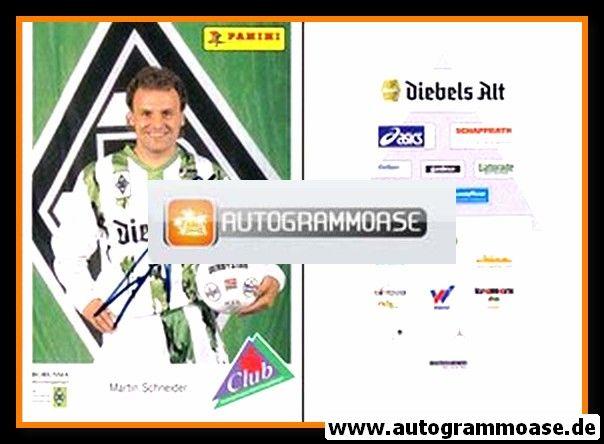 Autogramm Fussball | Borussia Mönchengladbach | 1994 | Martin SCHNEIDER