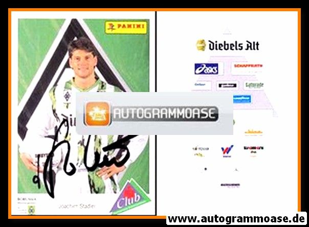 Autogramm Fussball | Borussia Mönchengladbach | 1994 | Joachim STADLER