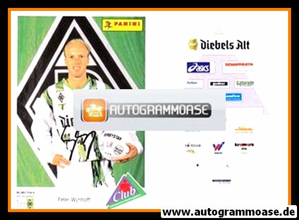 Autogramm Fussball   Borussia Mönchengladbach   1994   Peter WYNHOFF