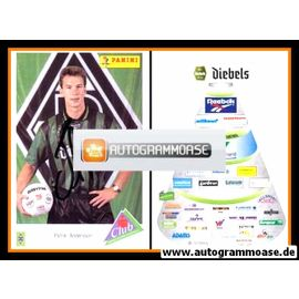 Autogramm Fussball | Borussia Mönchengladbach | 1995 | Patrik ANDERSSON