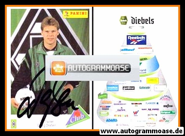 Autogramm Fussball | Borussia Mönchengladbach | 1995 | Hans-Georg DRESSEN