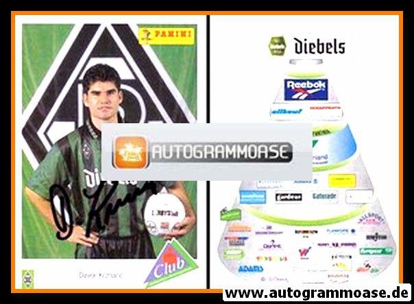 Autogramm Fussball   Borussia Mönchengladbach   1995   Davor KRZNARIC