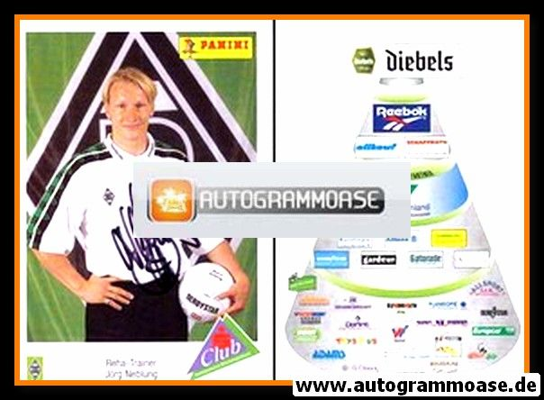 Autogramm Fussball | Borussia Mönchengladbach | 1995 | Jörg NEBLUNG
